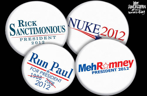 If GOP campaign buttons were honest