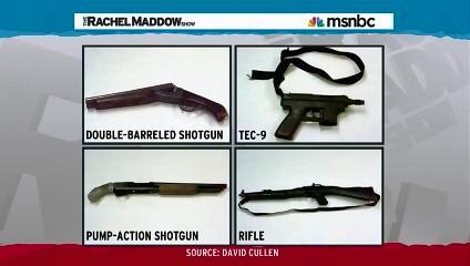 The Columbine Weapons
