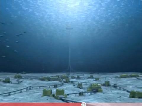 Seafloor pipeline