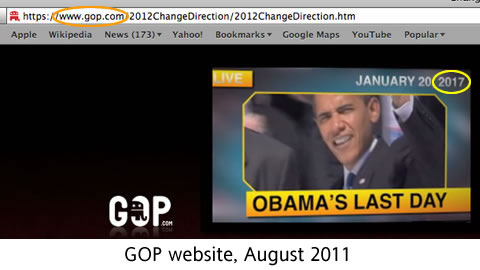 Even the GOP assumes Obama will win re-election
