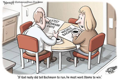 God must want Obama to win.