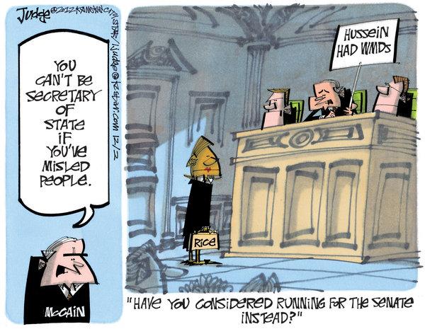 RW hypocrisy on nominations