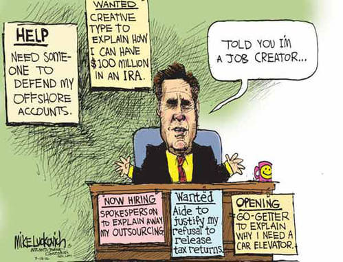 Mitt Romney: Job Creator