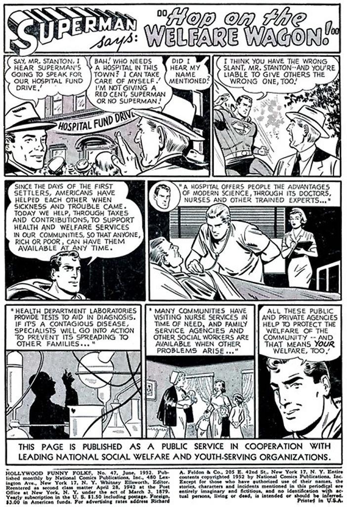 Superman PSA - June 1952