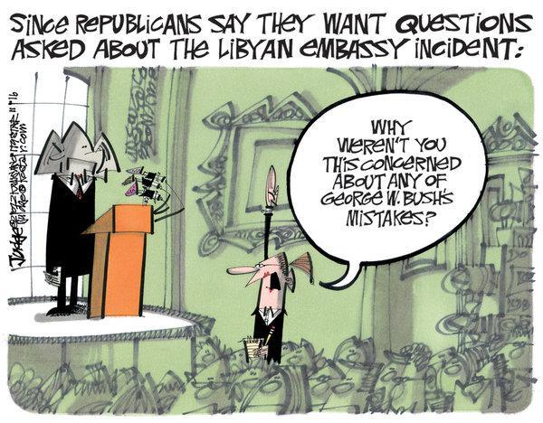 Benghazi Hypocrisy