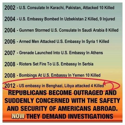 Embassy attacks since 2002
