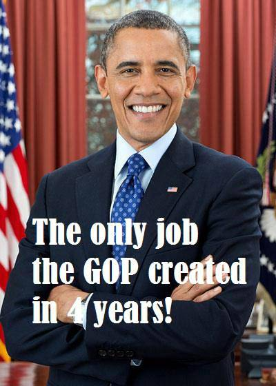 One job created by the GOP