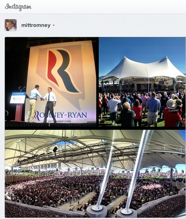 Romney Nevada event